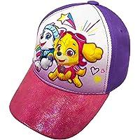 Nickelodeon Paw Patrol Skye & Everest Toddler Girls' Baseball Cap Purple
