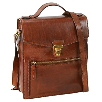 The Bridge Leather Man Bag STORY UOMO hand bag brown 05265901/14 ...