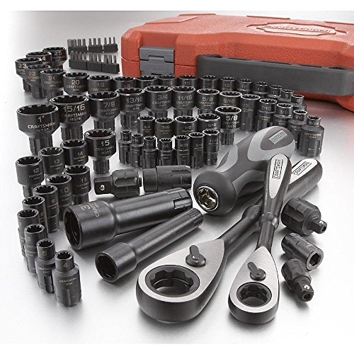 Sae Tool Set (CRAFTSMAN 85-PC Universal MAX AXESS Mechanics Tool Set (Inch/Metric))
