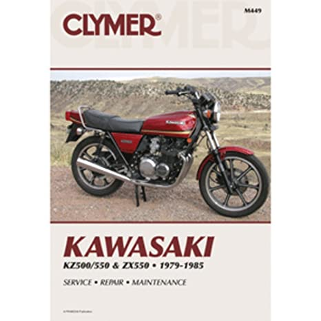 amazon com: clymer repair manual for kawasaki kz500 kz550 zx550 79-85:  automotive