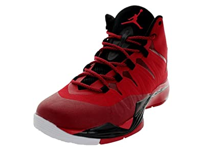 purchase cheap cf1a8 4b83b Image Unavailable. Image not available for. Color  Jordan Nike Men s Super.Fly  2 Gym Red Black White Basketball Shoe 11
