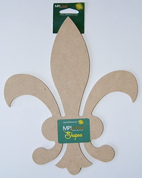 Pressed Wood Fleur De Lis Wall Decor 10 H Amazoncouk Kitchen