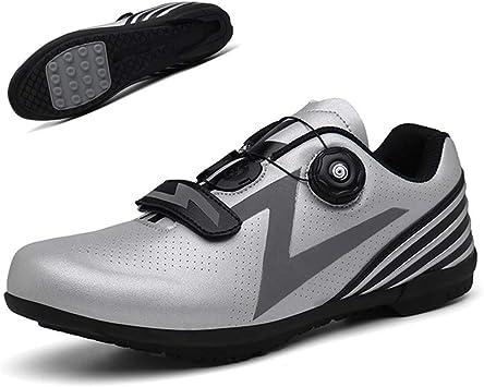 DEAR-JY Zapatos De Ciclismo,Zapatillas De Bicicleta De Carretera ...