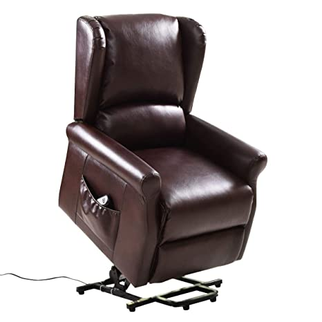 Super Giantex Electric Lift Chair Power Lift Reclining For Living Room Bedroom Elder People With Remote Control Red Brown Alphanode Cool Chair Designs And Ideas Alphanodeonline