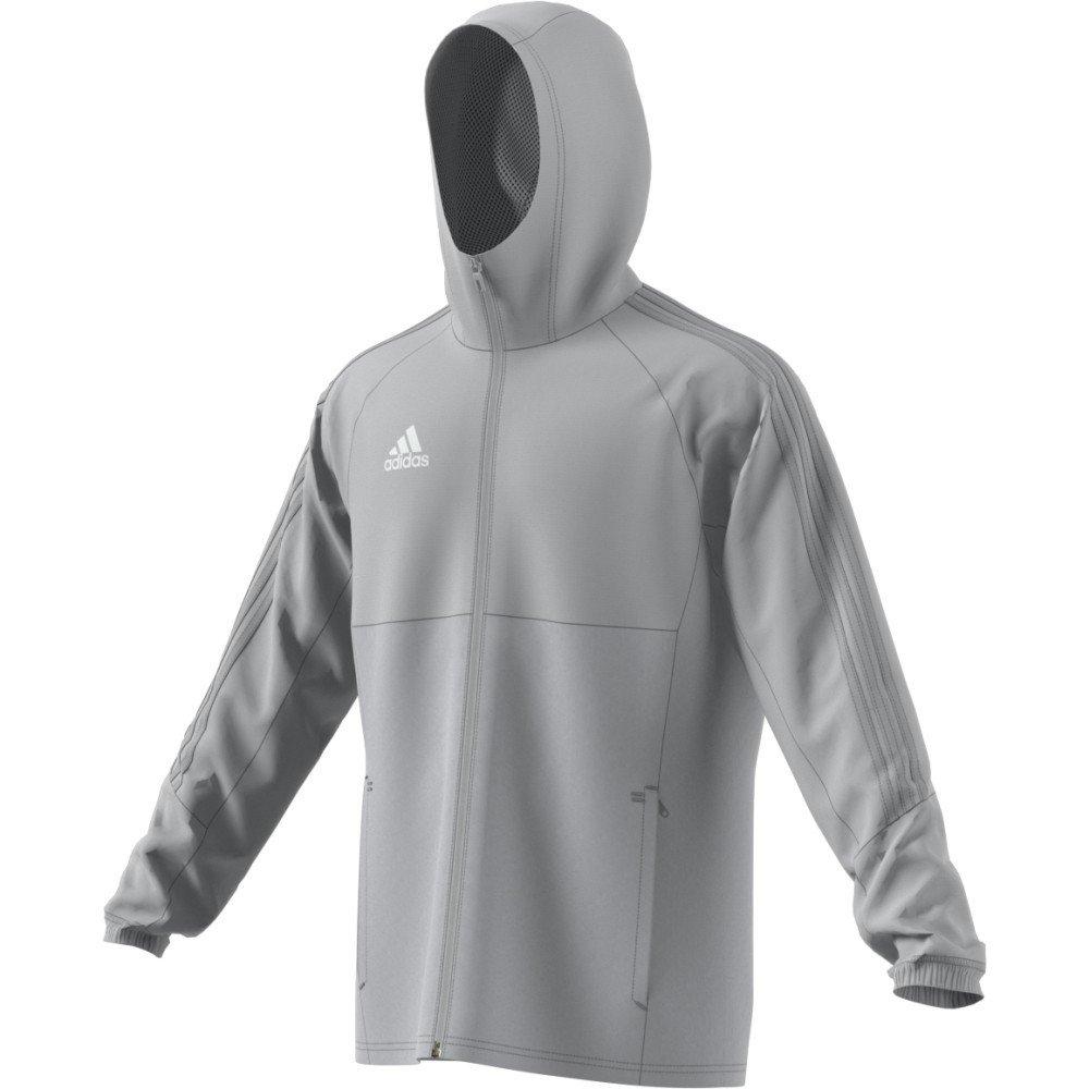 34e6fee5a adidas Men's Tiro 17 RAIN COAT JACKET, Men, BQ2653: Amazon.co.uk ...