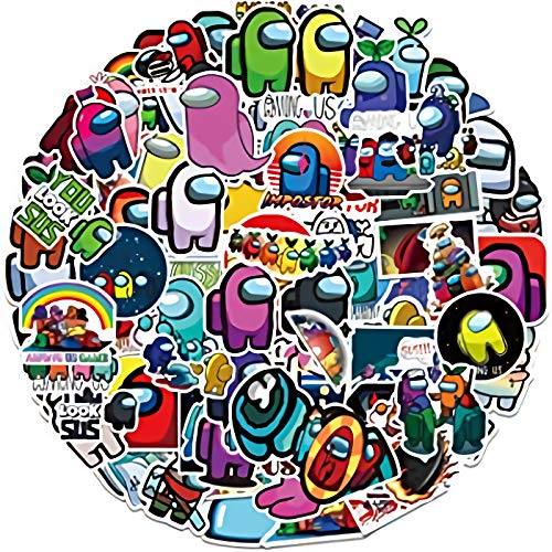 🥇 100PCS Game Among Us Stickers