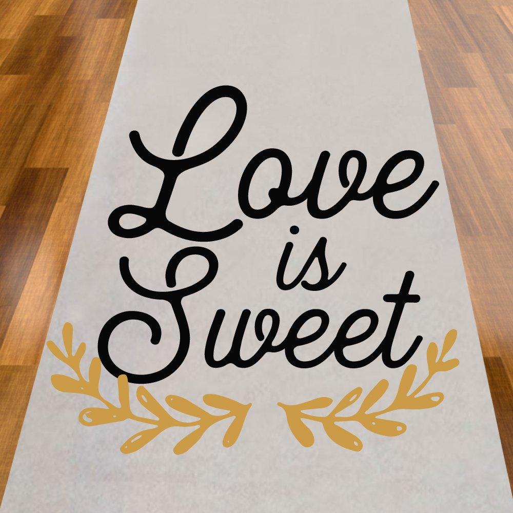 Love is Sweet Aisle Runner