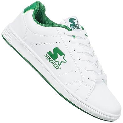 Starter Herren Carmelo Sneakers Schuhe Weiß Grün