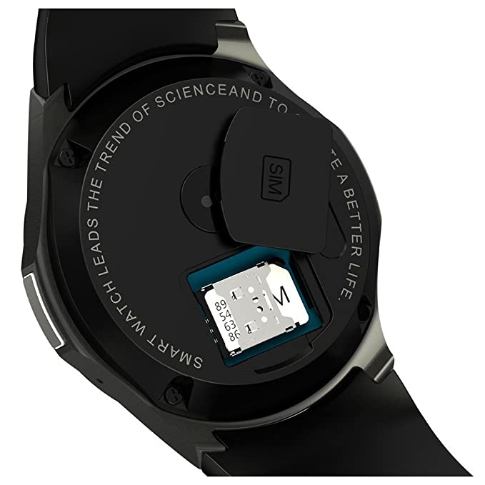 Amazon.com: TOOGOO Smartwatch Fitness Smart Phone DM368 3G ...