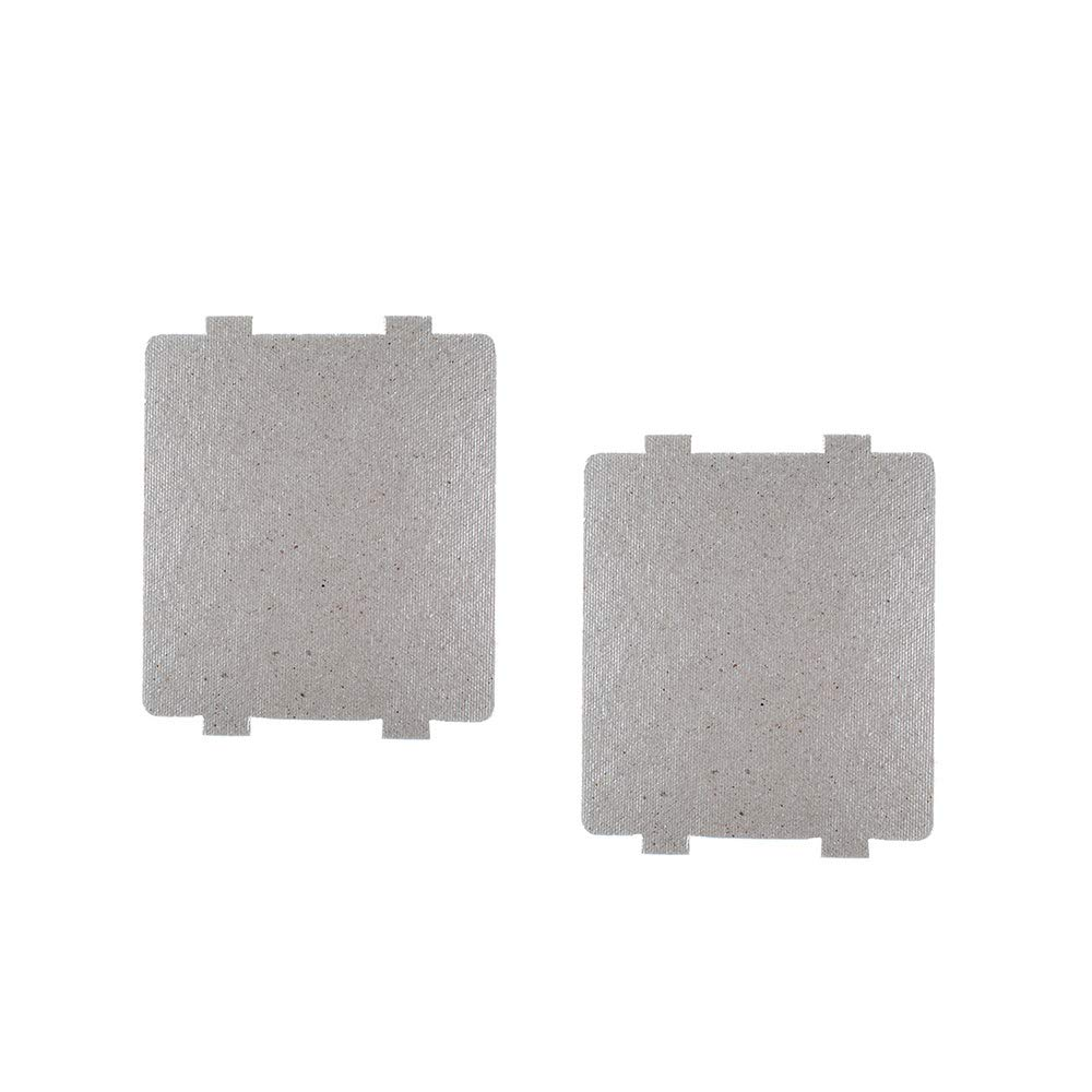 Waveguide Cover for Frigidaire 5304464061, Microwave Oven Repairing Part Mica Plates Sheets (2 Pack)