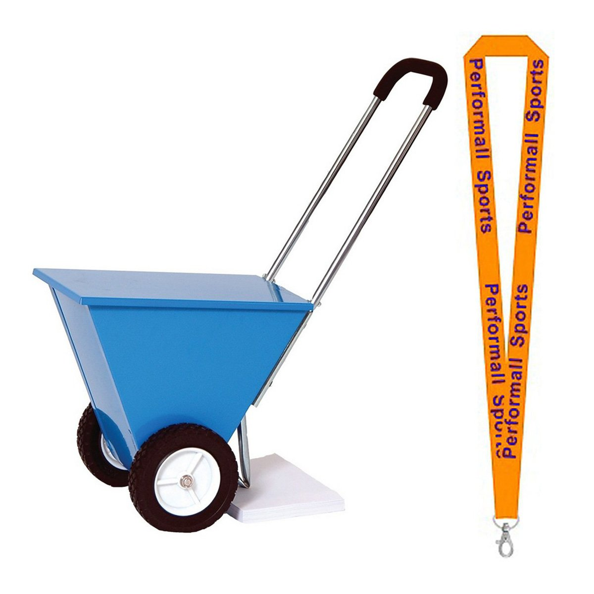 Champion Sports Deluxe Dry Line Marker Blue with 1 Performall Lanyard STD35-1P