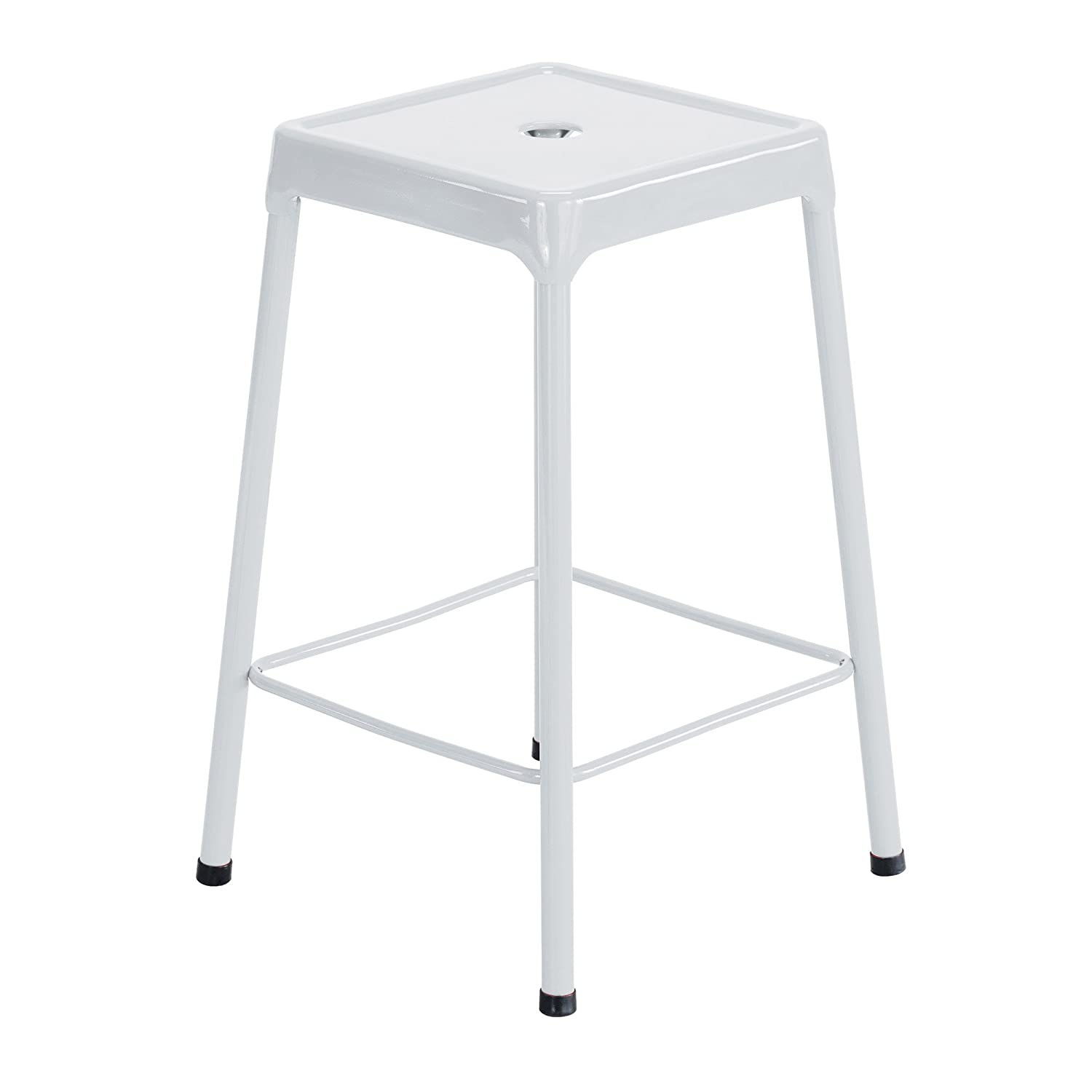 Sensational Safco Products Steel Stool Standard Height White Pdpeps Interior Chair Design Pdpepsorg