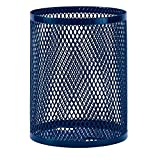 Ultra Play 32 gal. Diamond Blue Commercial Park Portable Trash Receptacle