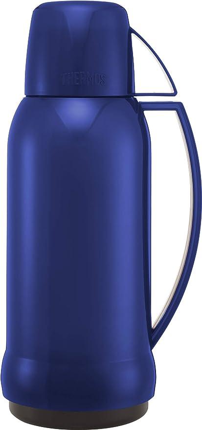 THERMOS Jupiter 38 - Termo de 1 litro con Interior de Cristal, Multicolor, 1 litro: Amazon.es: Hogar