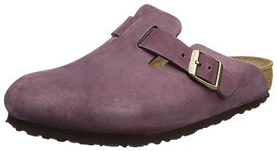 Birkenstock Boston, Sabots femme Violet Purple Haze, 42 EU