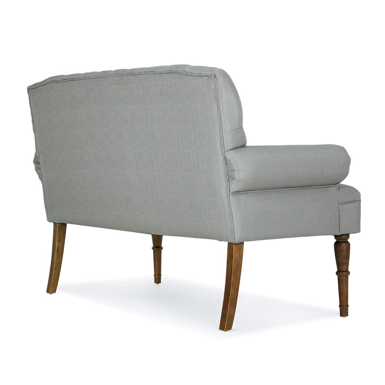 Amazon.com: Grey Button Tufted Settee Vintage Sofa Bench ...