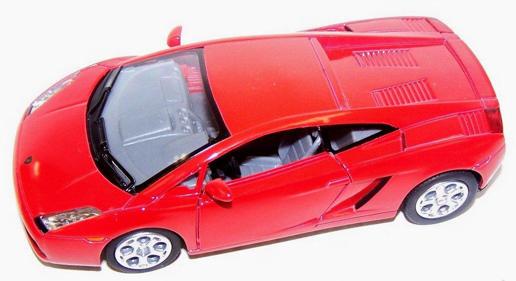 Kinsmart 1 32 Scale Diecast Lamborghini Gallardo in Color Red