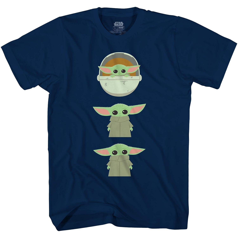 Star Wars The Mandalorian The Child Chibi Poses Baby Yoda T-Shirt