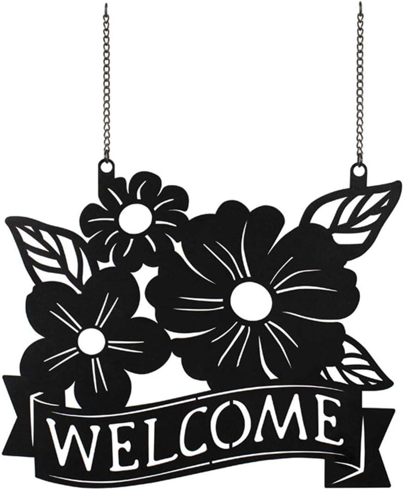 Carson Metal Garden Flag - Flowers Welcome