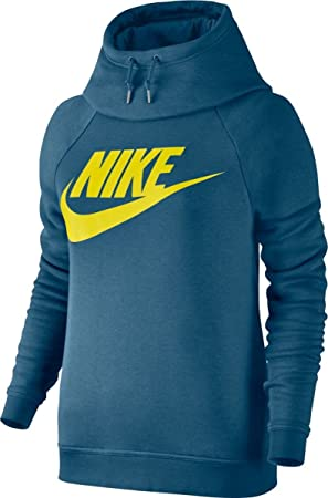 9e9a797b9066 Nike women s sportswear Rally Hoodie GX1 hooded sweater, Womens,  850436-055, blue