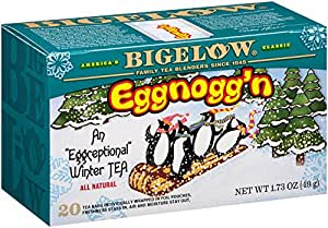 Bigelow Eggnogg'n Tea, 1.73-Ounce Boxes (Pack of 6)
