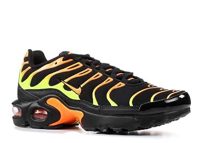 new concept 33407 1866d Nike Air Max Plus Black Volt-Total Orange (GS) (3.5 M