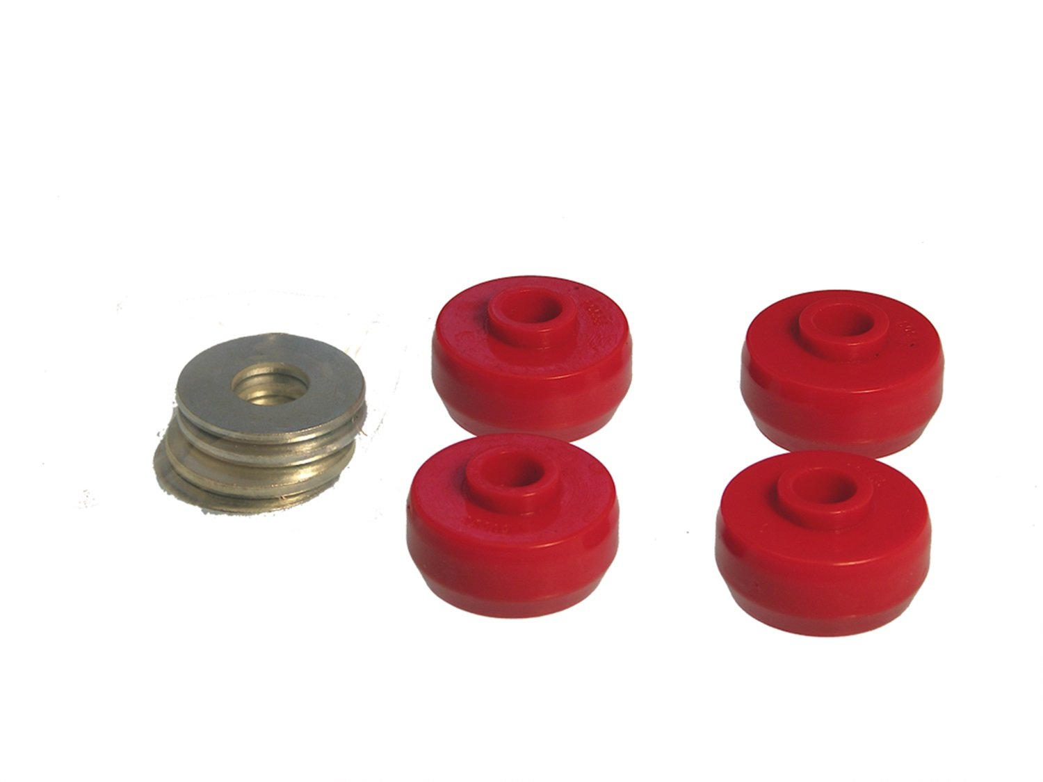 Prothane 7-1020 Red Rear Spring Cushion Kit
