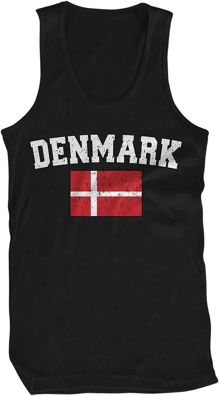 Amdesco Denmark Shield Danish Flag Toddler Raglan Shirt