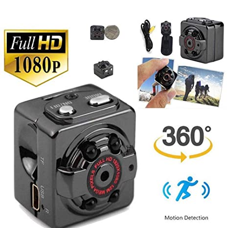 Balscw-J 1080P HD Mini cámara espía Oculta visión Nocturna detección de Movimiento Video vigilancia