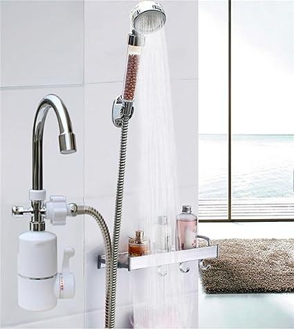 3000W InstantáNea Tankless EléCtrico De Agua Caliente Del Grifo Del Calentador De La Cocina BañO InstantáNeo