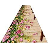Runner Rugs, Indoor Area Rugs Extra Long Aisle Carpet For Kitchen Bedroom Entryway Promenade Floor Decor (Size : 50…