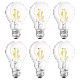 ClassiqueCulot 240vClaireBlanc Ampoule E27Dimmable7w 60w220 2700kLot Pièces De Chaud 6 Led FilamentForme Osram Equivalent sxBhrdoQtC