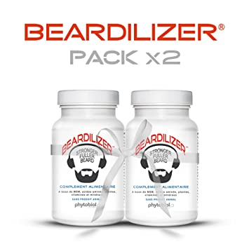 Beardilizer? - #1 Facial Hair and Beard Growth Complex for Men (2 Pack