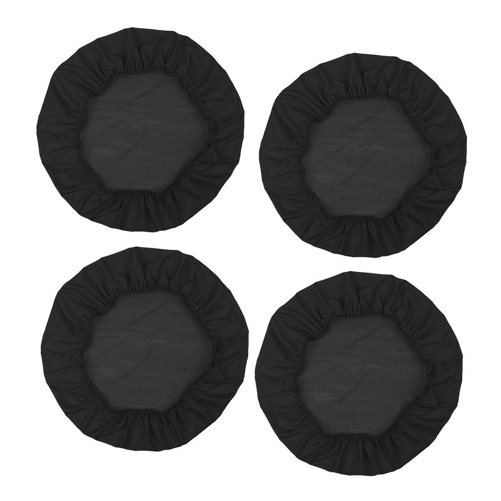 Rosa perfeclan 4 PCS Fodera per Sedia da Pranzo Copertura da Sedia Elastica Fodere Coprisedia Fodera Coprisgabello Coprisedia Rotonda