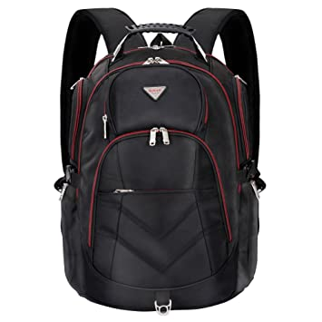 Amazon.com: Laptop Backpack 18.4 Inch,SOCKO Nylon Water-Resistant ...
