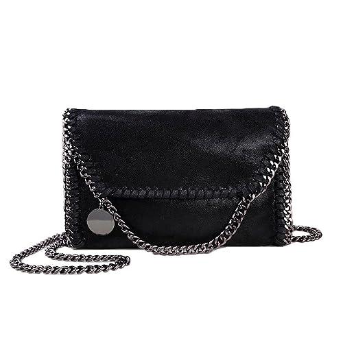 17eb29fb3886 Women Chain Bag Fashion PU Leather Crossbody Bag Shoulder Bags ...