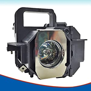 LOUTOC V13H010L49 Replacement Projector Lamp for Epson Elplp49 8350 8345 8500UB 8700UB 6100 6500UB 7100 7500UB(lamp with housing)