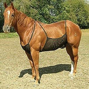 Centeraly Cover Protettiva Cavallo Addome Outdoor Rete Tappeto Fly Confortevole Regolabile Antigraffio Bite Anti-zanzara… 10 spesavip