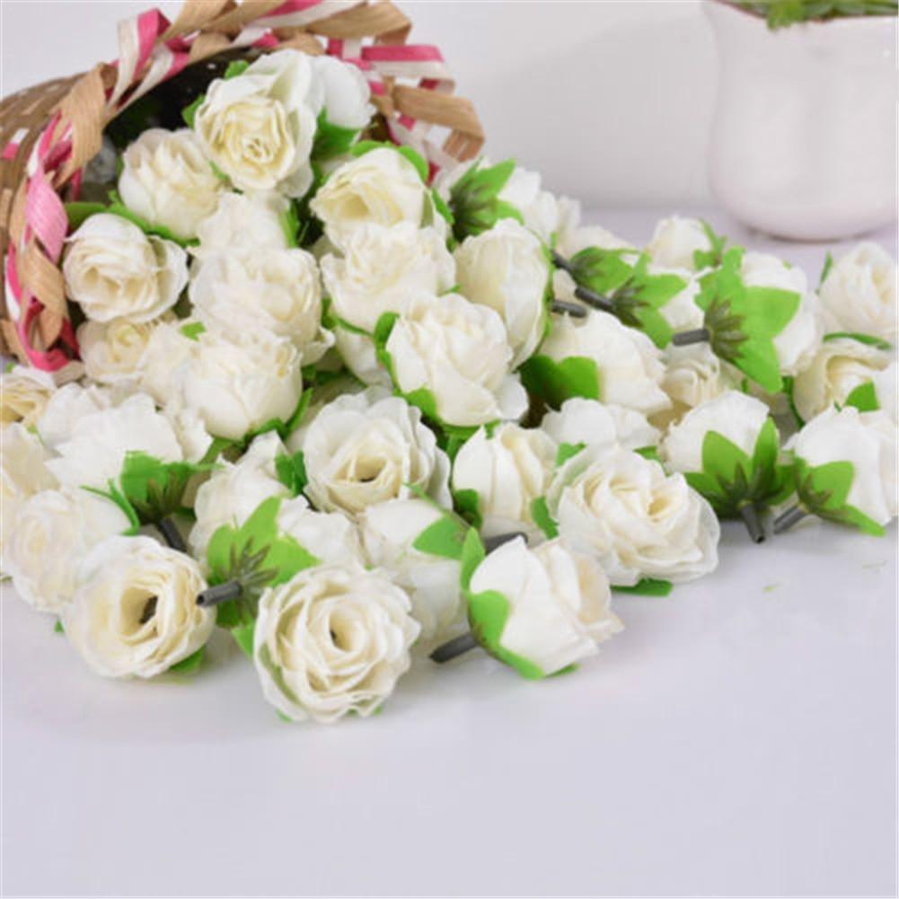 Famibay Fiori Orchidea Artificiale Rami Orchidee Finte Phalaenopsis Rosa per Casa Decorazione 2 Pz