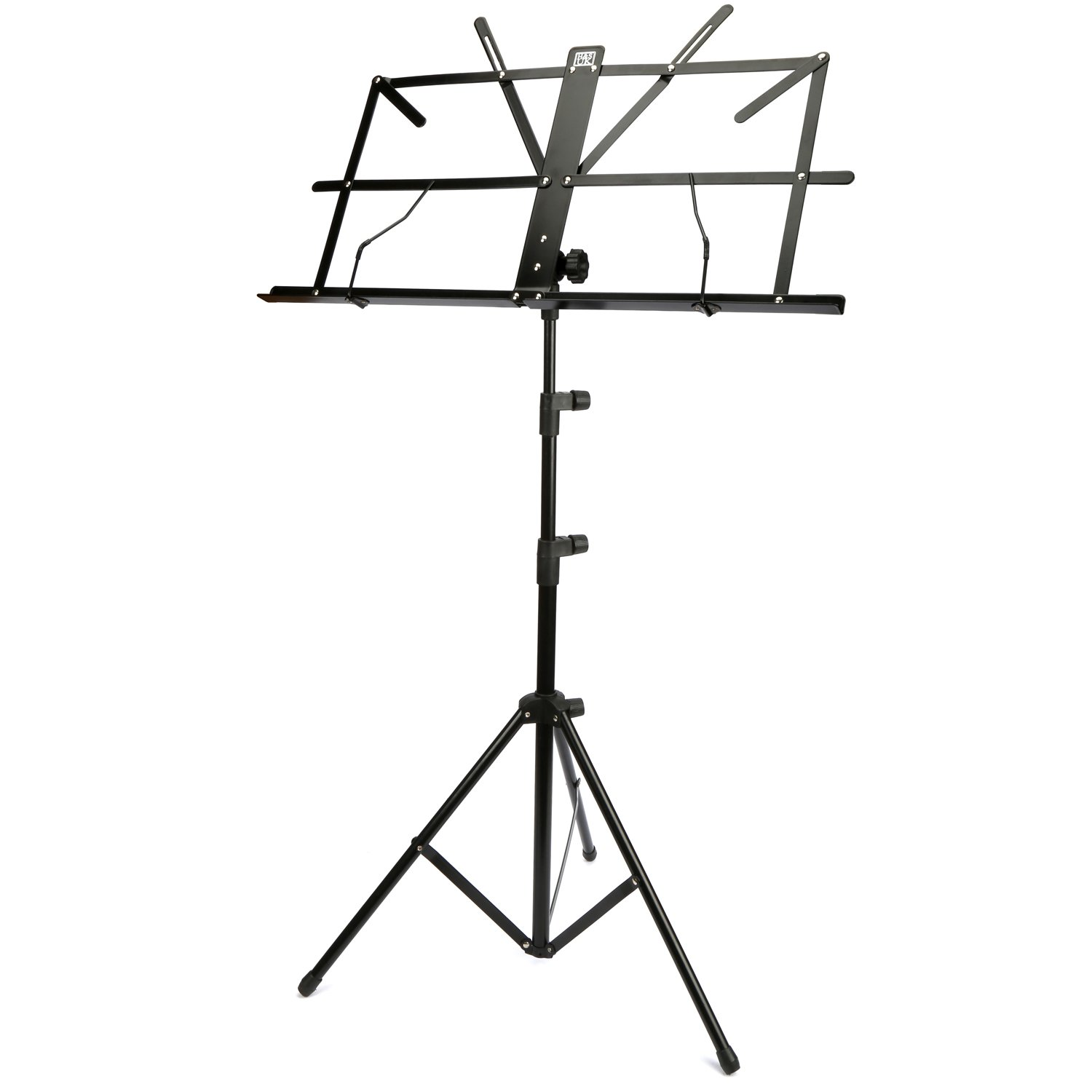 music note stand sheet music holder lightweight adjustable foldable carry case ebay. Black Bedroom Furniture Sets. Home Design Ideas