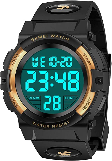 Tesoky Waterproof Sports Digital Watches for Kids Best Gifts