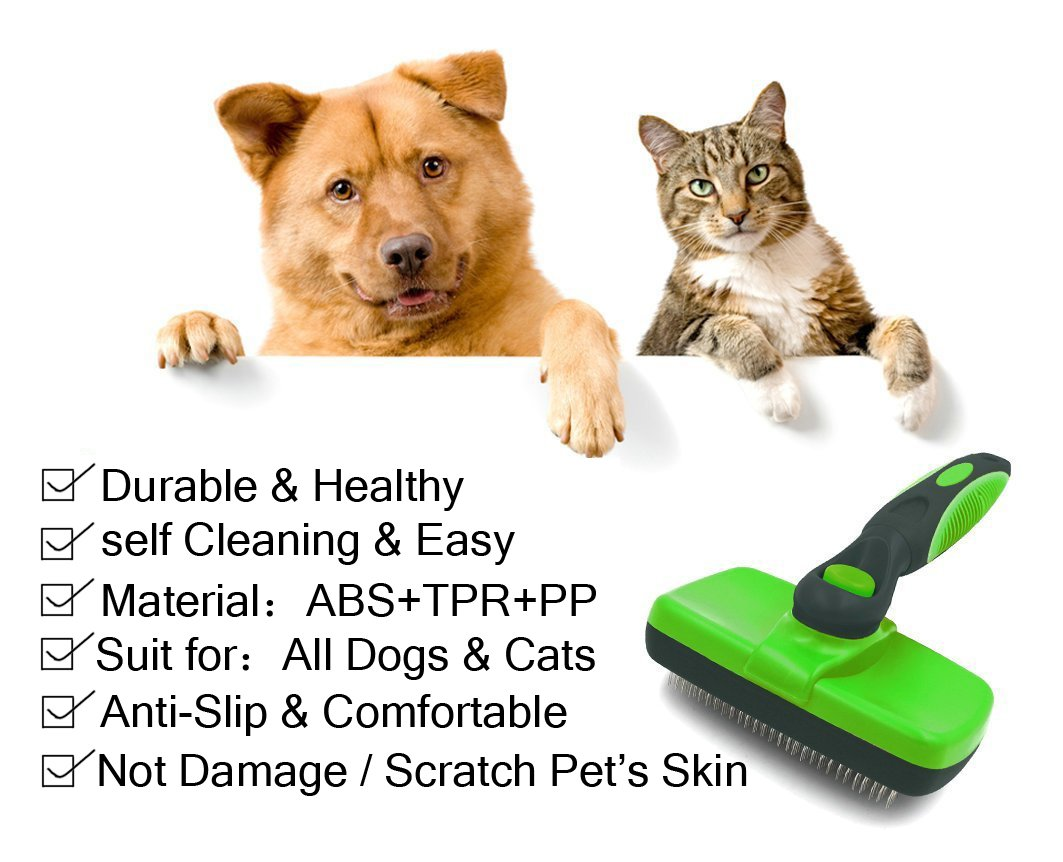 Slicker Cleaning Brush, Dog Cat Brush for Remove Dog Cat Hair by Catnee (Image #4)