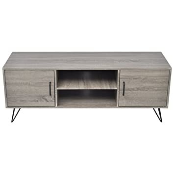 Festnight Meuble Banc Tv Table De Chevet Design Scandinavee En Mdf