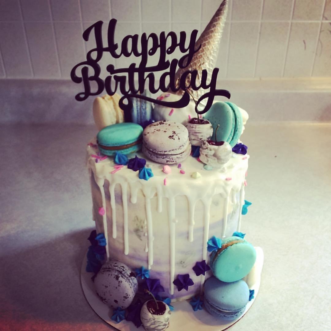 Groovy Amazon Com Happy Birthday Cake Topper Handmade Funny Birthday Cards Online Barepcheapnameinfo