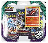 Pokemon TCG: Sun & Moon Guardians Rising - Turtonator+ 3 Booster Packs | Features Rare Holofoil Turtonator Card | Value Pack with 3 Booster Packs | 100% Authentic Branded Pokemon Expansion Packs