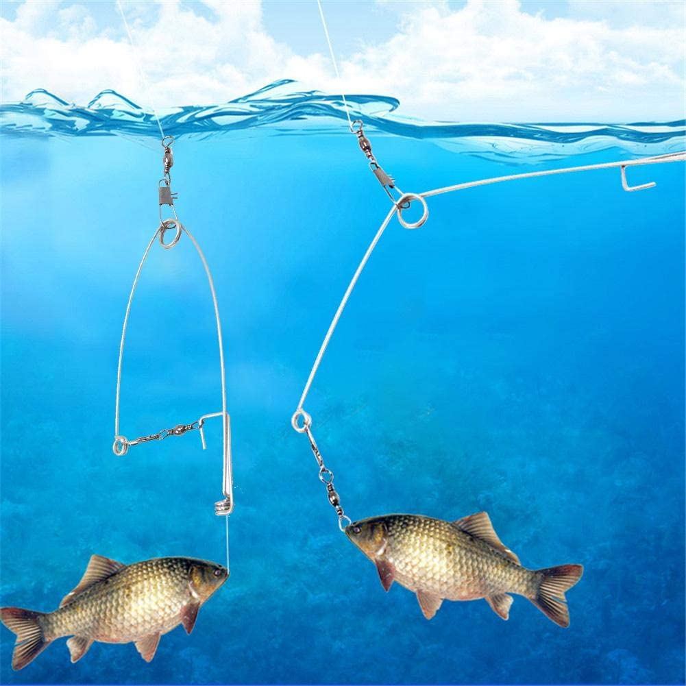 Automatic Fishing Hook Top Speed For Lazy Fishing Gear Tool For All the Water.