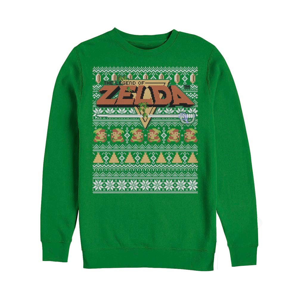 Amazon.com: Fifth Sun Legend of Zelda Tight Forces Ugly Christmas ...