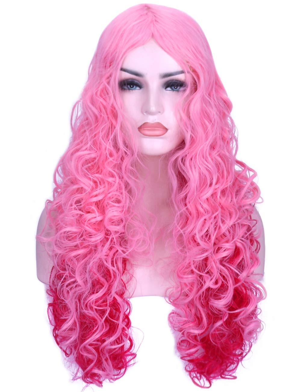 Amazon Com Aneshe 32 Quot Fascinating Long Curly Hair Wig