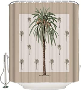 ZOE GARDEN Shower Curtain Set with Hook 48