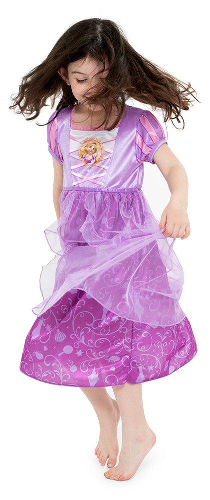 Disney Big Girls' Fantasy Nightgowns, Rapunzel Lively Lavender, 8 by Disney (Image #3)